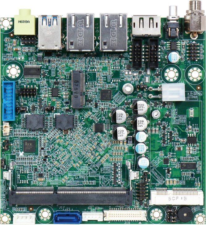 Portwell Nano-6062: системная плата Nano-ITX на базе процессоров Intel Apollo Lake
