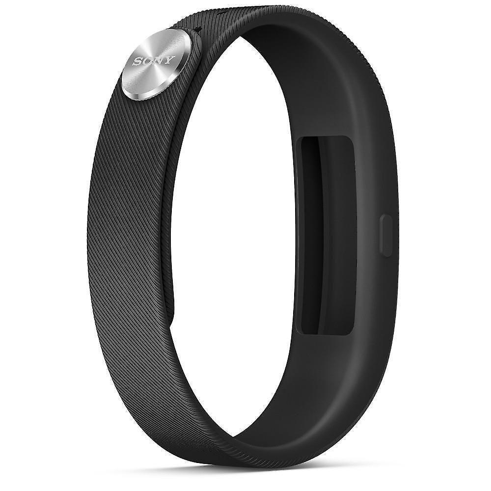 Sony SmartBand SWR10 vattentät musikkontroll NFC Bluetooth svart