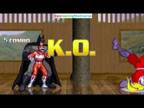 Batman And The Red Ranger VS Chucky Killer Doll Omega In A MUGEN