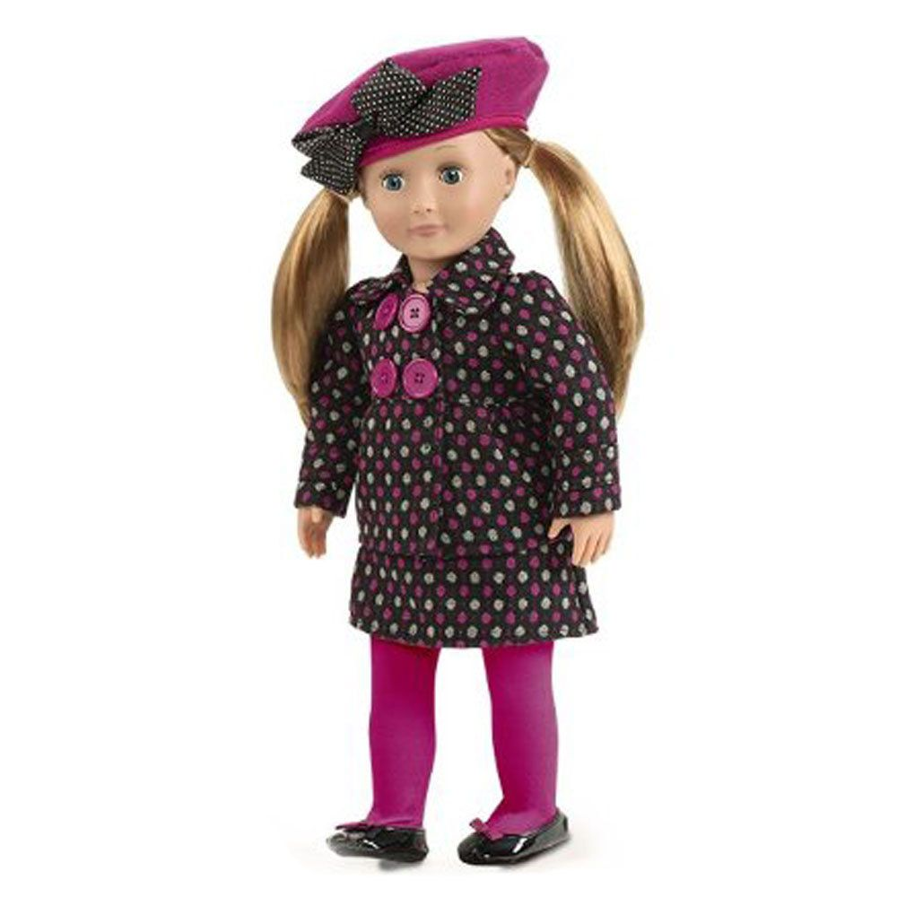 fcc59b3cd56 This sophisticated Our Generation clothes set is perfect for any Our  Generation doll with a passion for fashion. The pink polka dots keep this  outfit fun as ...