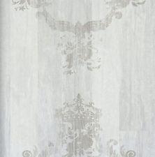 vlies tapete antik holz muster ornament barock braun grau beige elements - Tapete Grau Beige