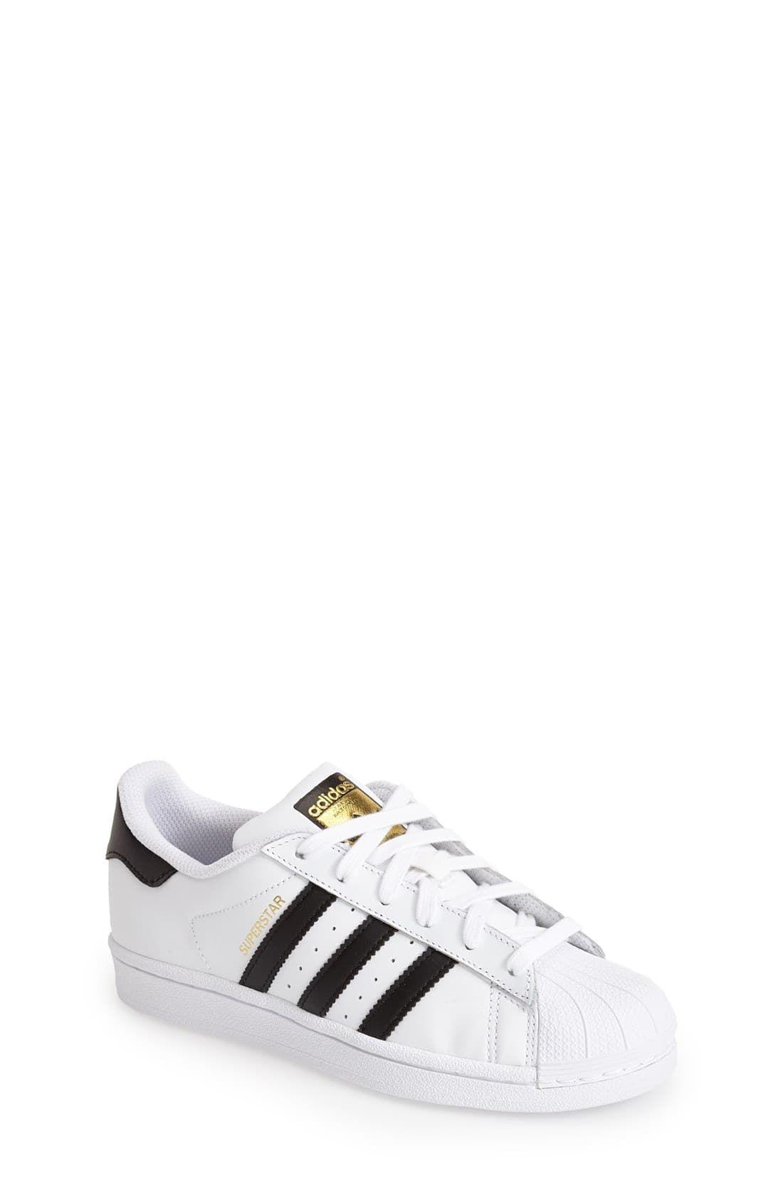adidas superstar ii white black size 6