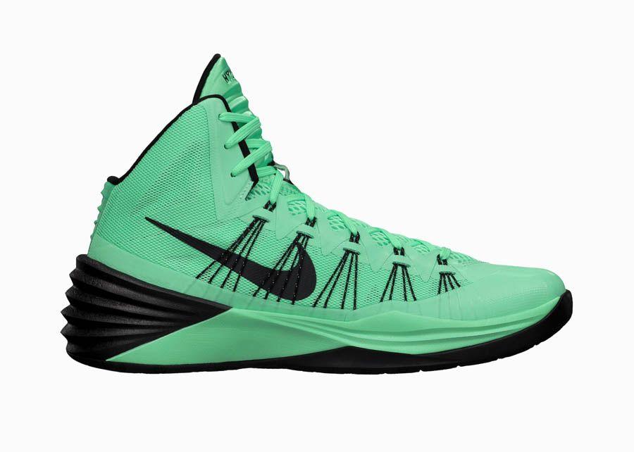 7f71ea89d4c1f Nike Hyperdunk 2013 - Green Glow | Shoes Şakir likes | Nike shoes ...
