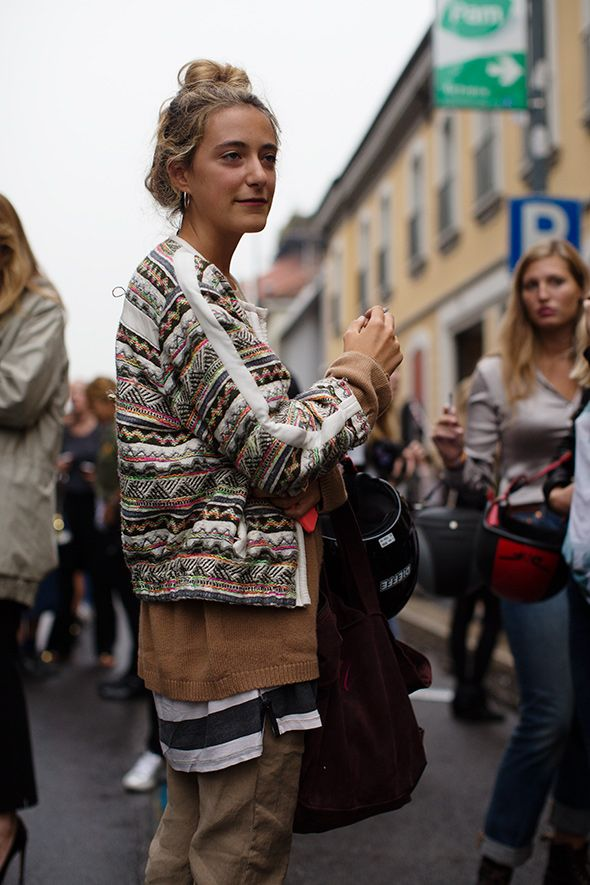 layered mixed prints #style #fashion #streetstyle