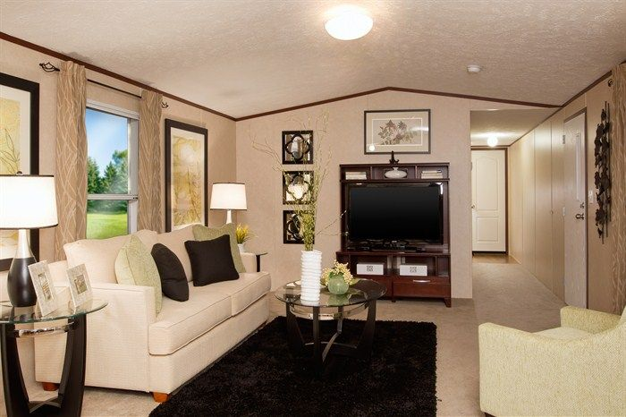 Mobile home fashion mobile home decorating single - How to decorate a mobile home living room ...