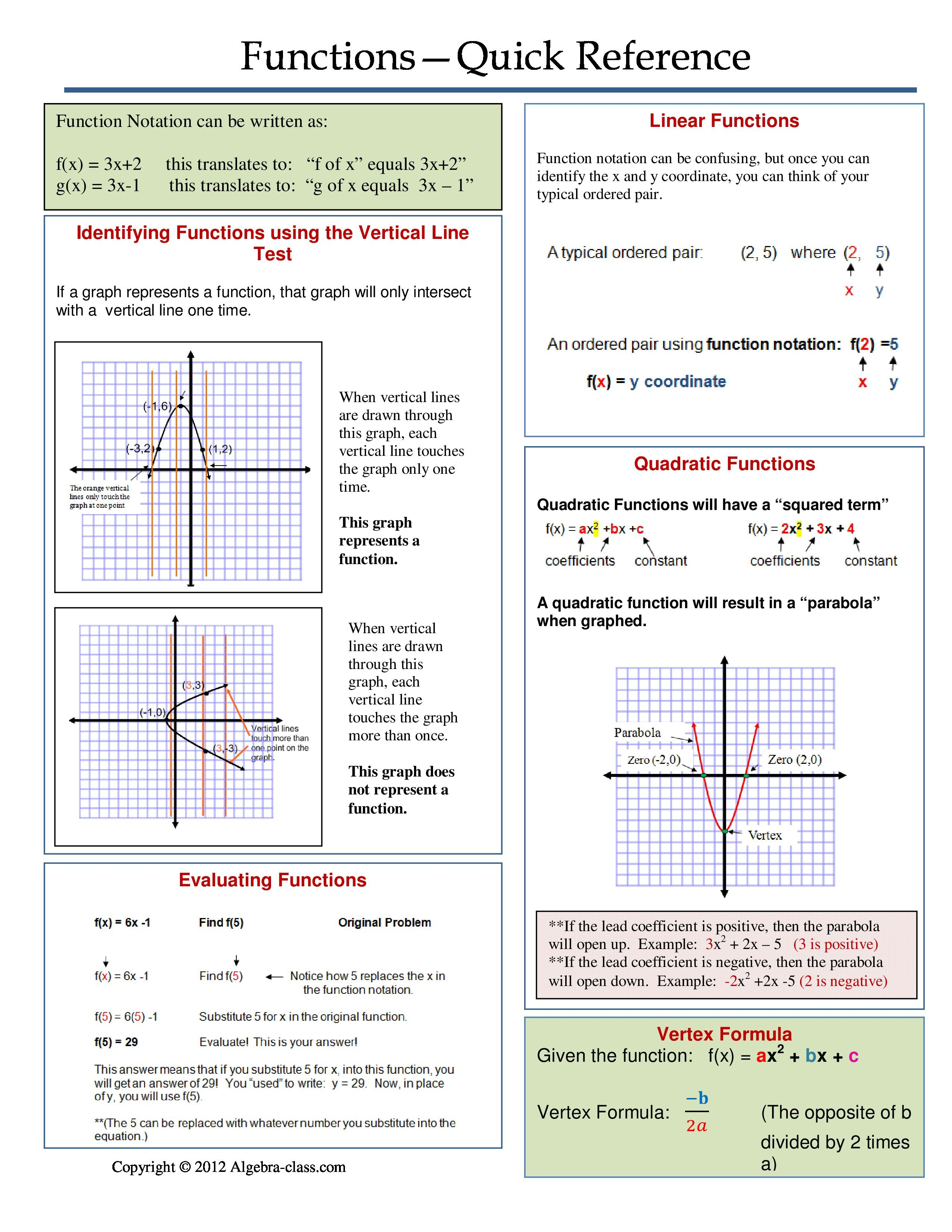 small resolution of Pin by Algebra Class on Algebra Cheat Sheets   Studying math