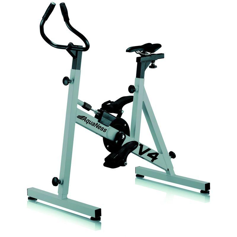 Aquabike Aquaness V4 Gris Alu Ral 9006 Bike Stationary Gym