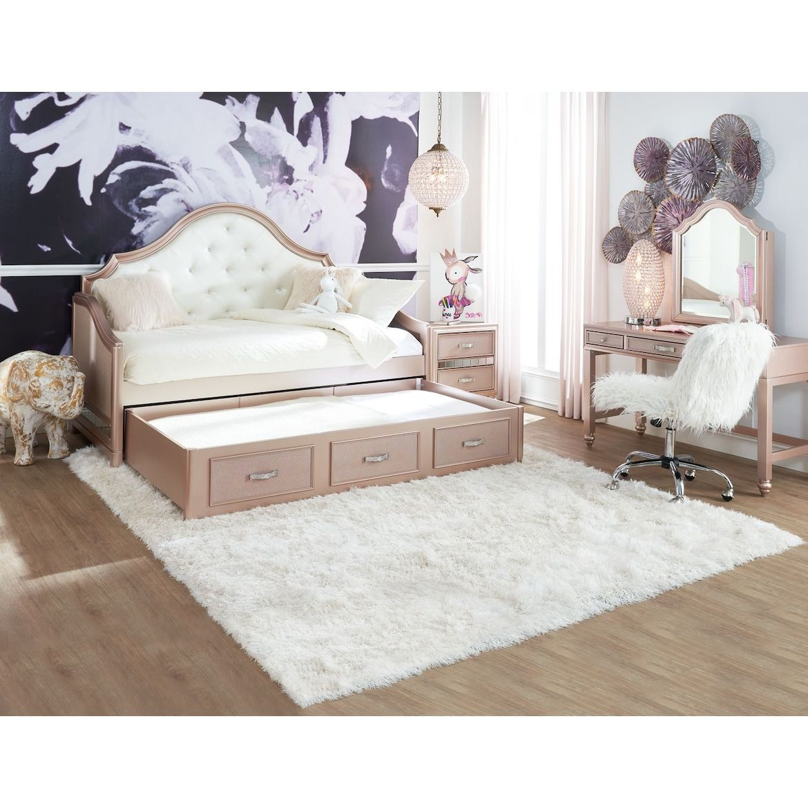 Serena Twin Trundle Daybed Daybed With Trundle