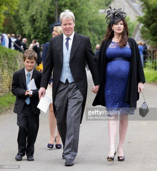 Earl Charles Spencer And His Heavily Pregnant Wife Karen The Picture Id146063326 545 594