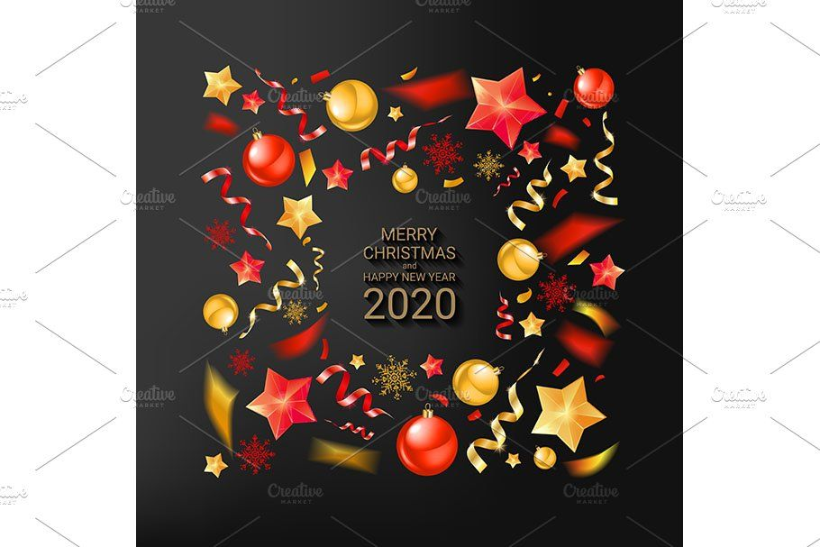 3 New Year Greeting Cards New Year Greeting Cards Christmas Banners Christmas Party Invitations