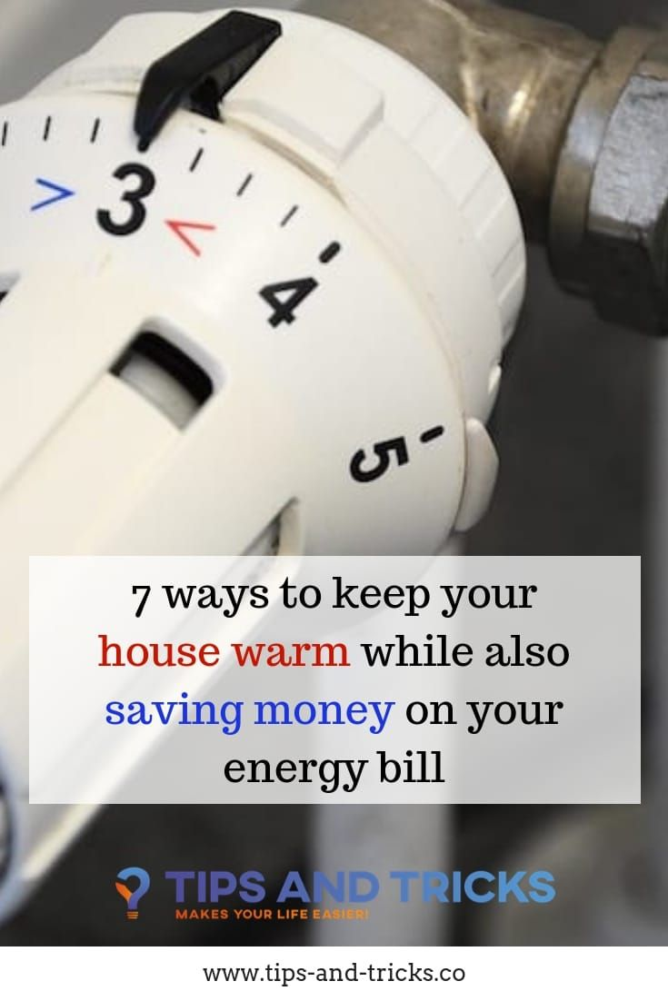 Ways To Save On Electric Bill During The Winter