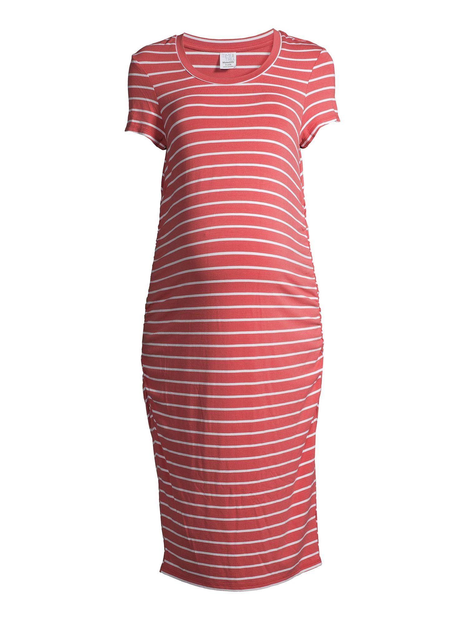 Time And Tru Maternity Time And Tru Daytime Short Sleeve Midi Dress Walmart Com Midi Short Sleeve Dress Midi Dress Dresses [ 2000 x 1500 Pixel ]