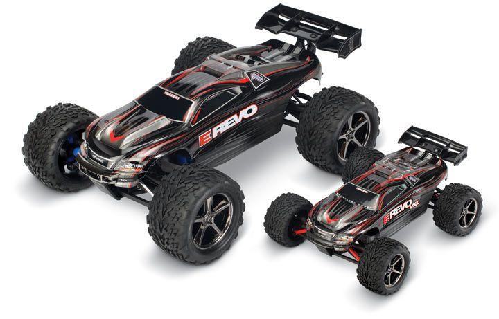 E Revo Traxxas 1 8 Scale Rc Car A 72mph Weapon Traxxas Rc Cars And Trucks Hobby Rc Cars