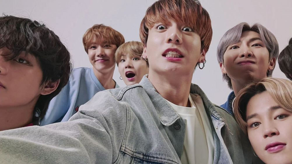 BTS shows off their sweet and goofy side in a new self