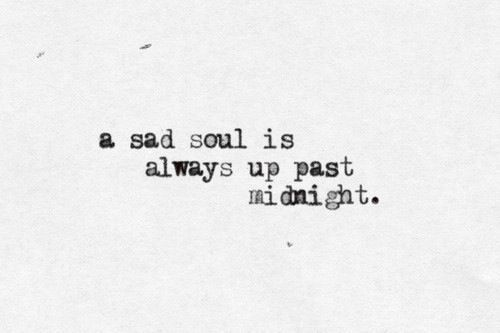 Sometimes it is a happy soul writing about a sad soul's journey