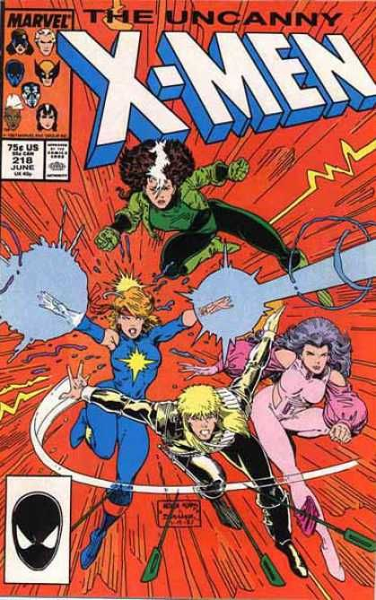 Uncanny X Men Covers 200 249 Marvel Comic Books X Men Psylocke