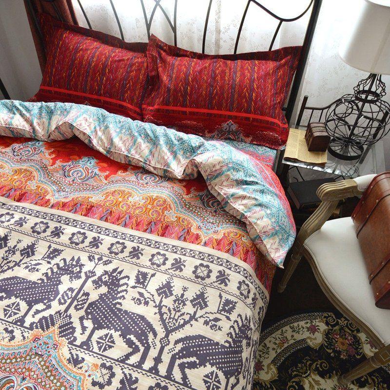 Native American Bedding Bedspread Bedroom Sets Bohemian Bedding Sets Bed Duvet Covers Duvet Cover Sets