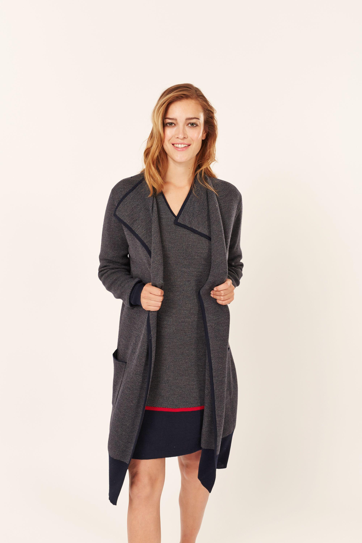 Veste laine femme hiver 2015