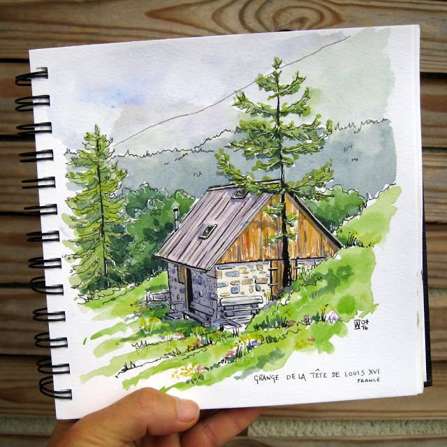 Time In The Mountains With Images Art Tutorials Watercolor