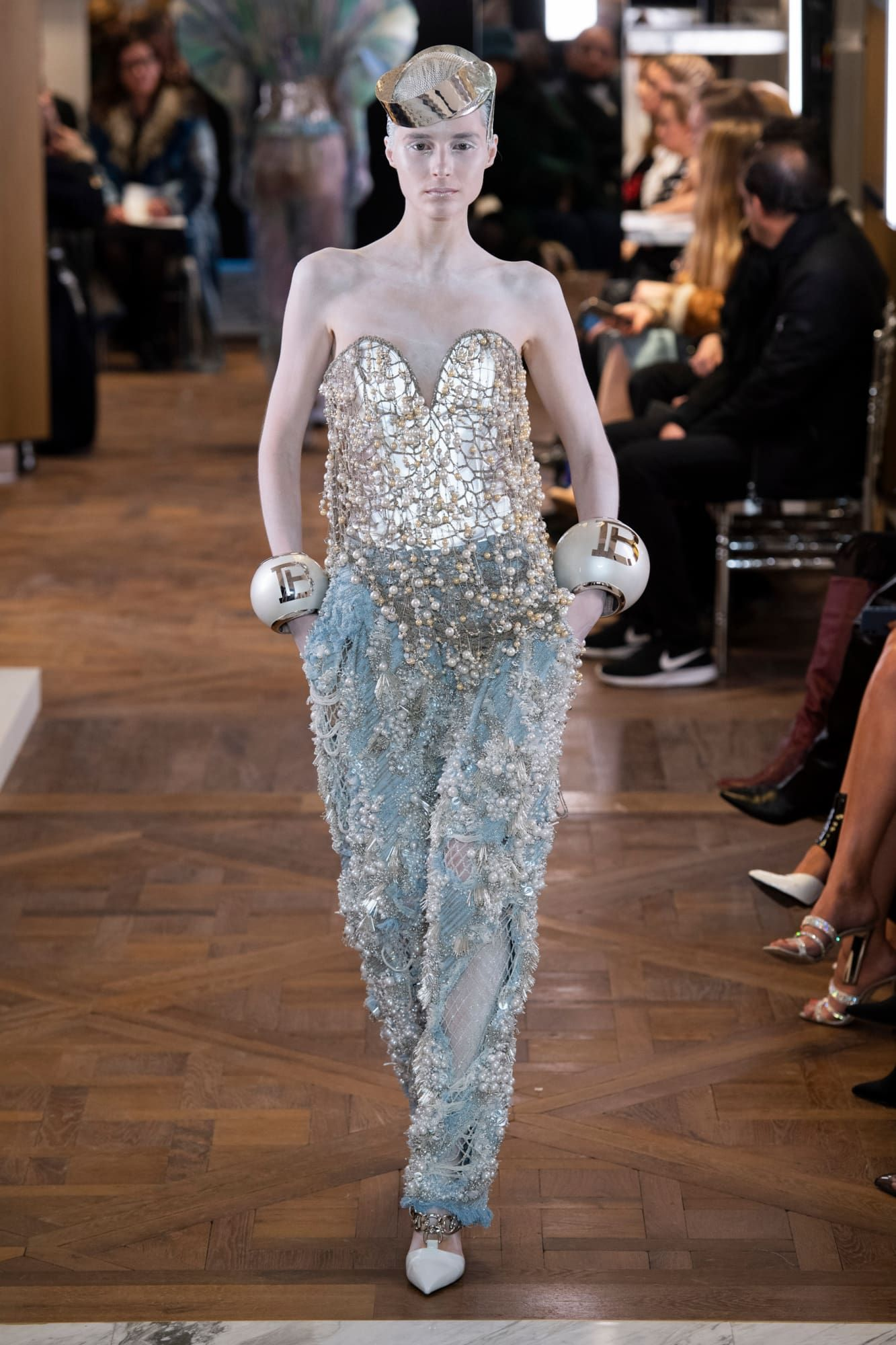 meet superior quality store Olivier Rousteing's First Couture Show for Balmain Was a ...