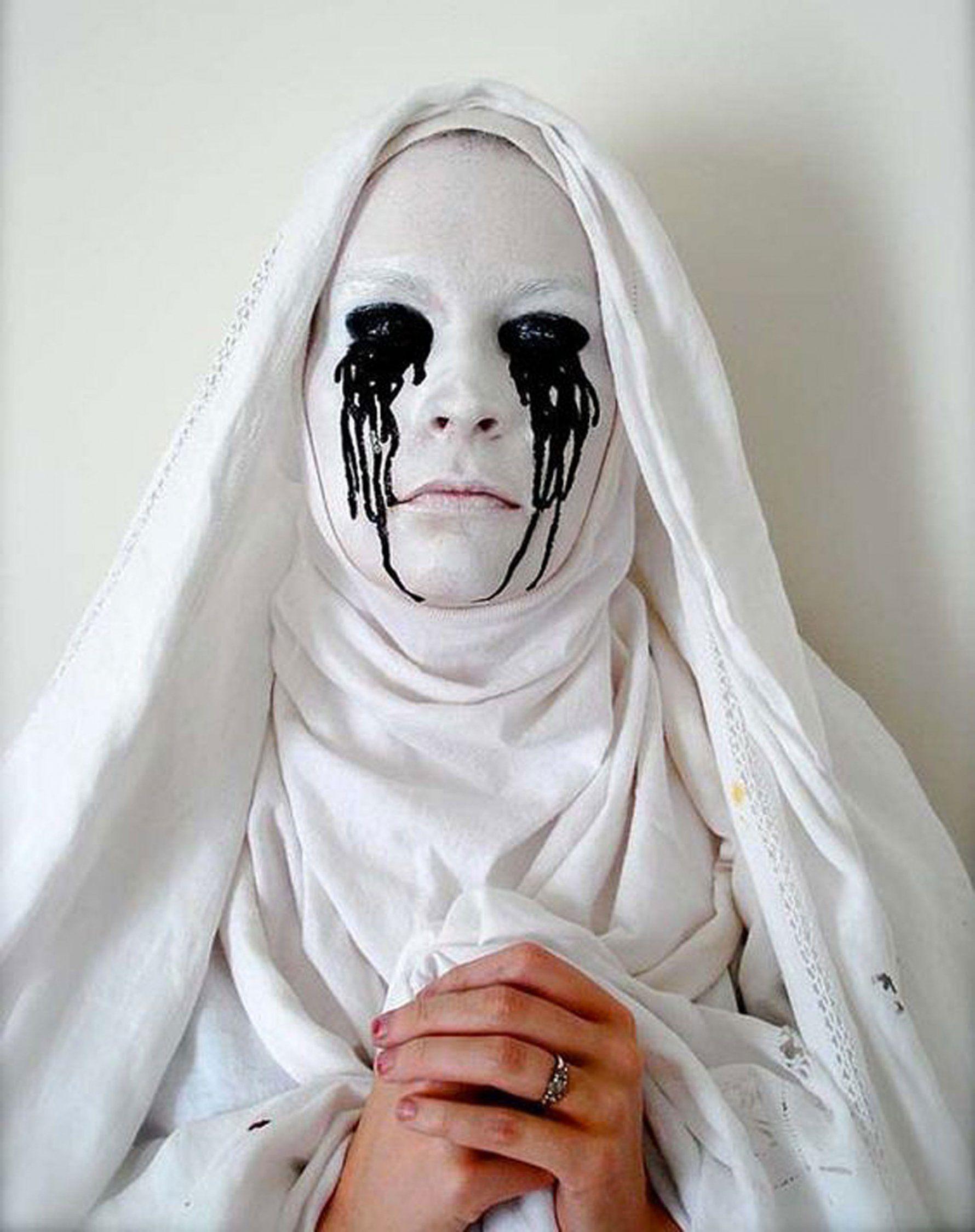 Quatang Gallery- Maquillage D Halloween La Nonne Malefique Costumes D Halloween Effrayant Idees De Maquillage Halloween Halloween Maquillage Effrayant
