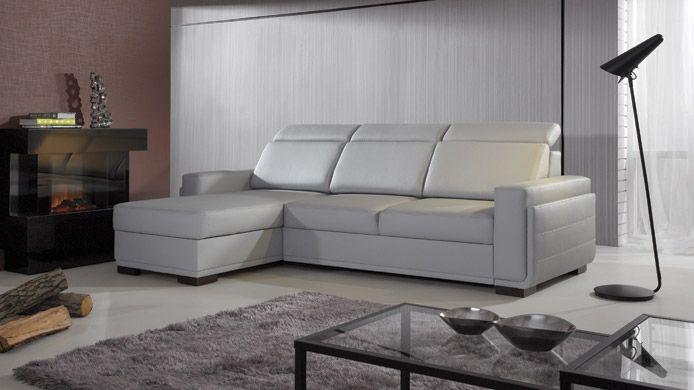 Salvo Iii Faux Leather Corner Sofa For Sale Hoekbank Retro Bank Lederen Bank