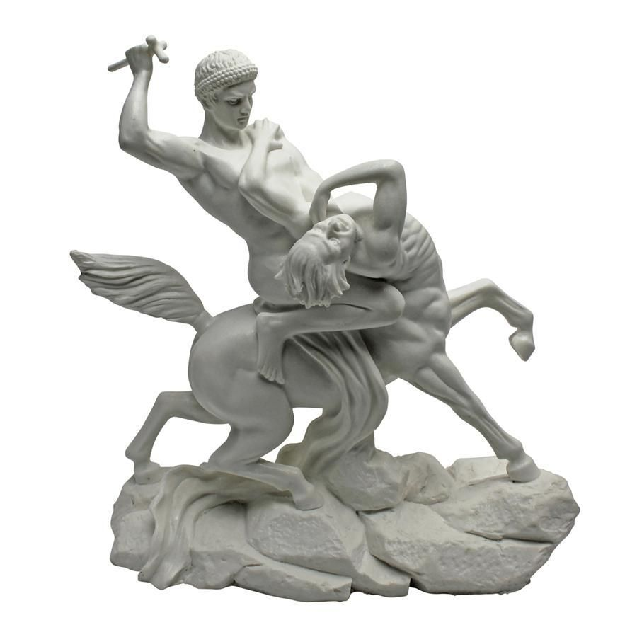 French Sculptor Barye S Exquisite Talent As A Sculptor Of Both Human And Animal Forms Is Exemplified In This Mid 19th Centu Marble Statues Statue Bonded Marble