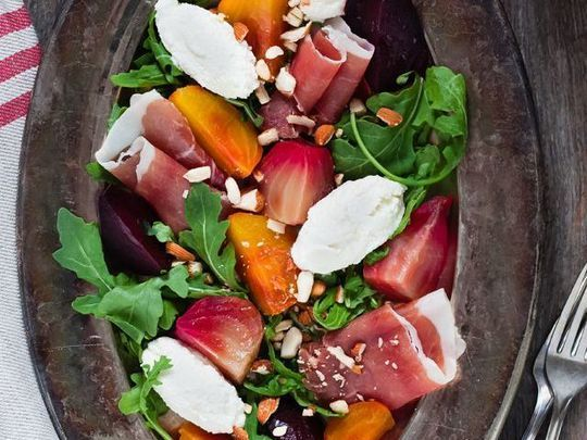 10 idées de salades d'automne très appétissantes et simples à ... #saladeautomne 10 idées de salades d'automne très appétissantes et simples à ... - Grazia #saladeautomne
