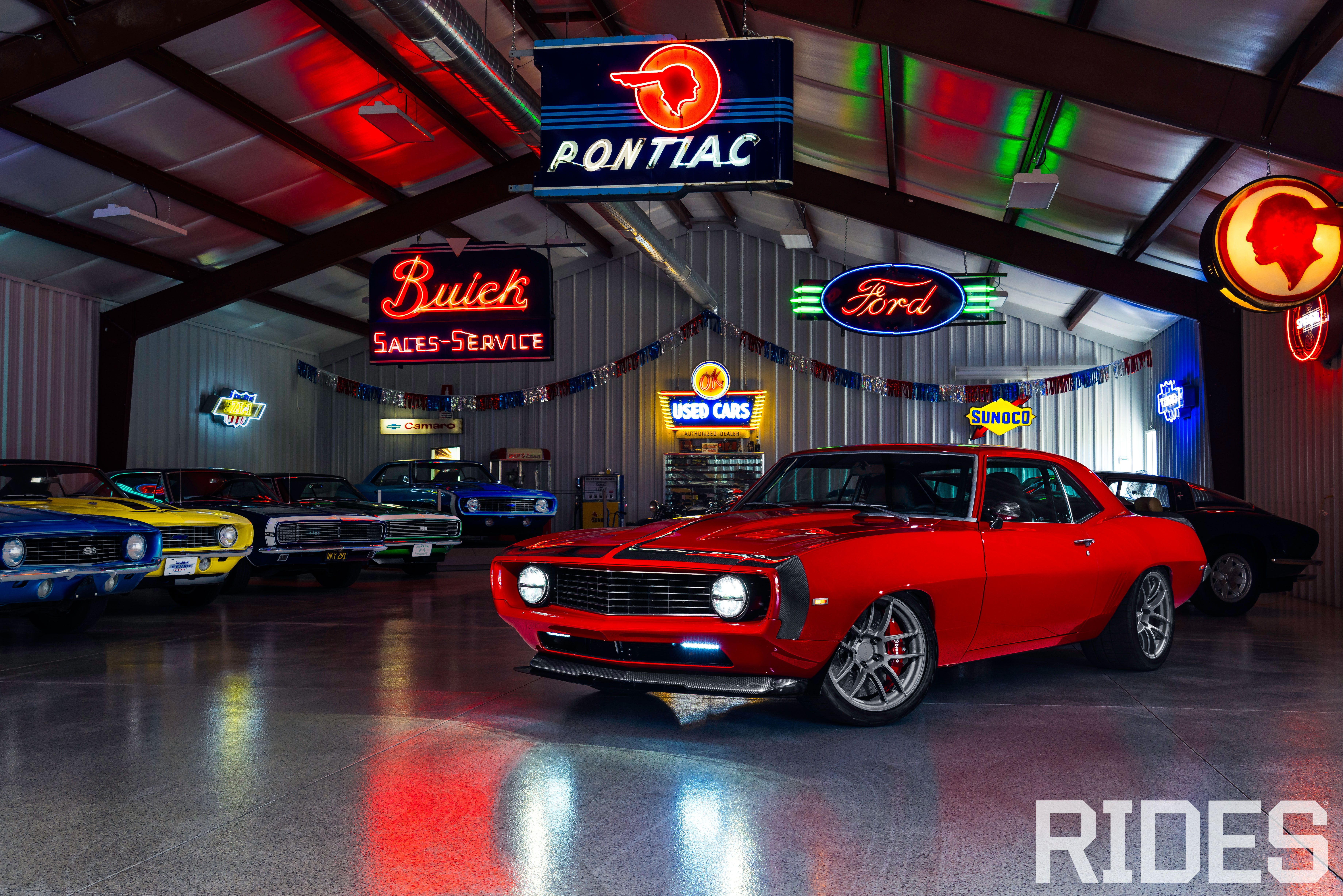 A snippet of the best features from Pro Touring  magazine.