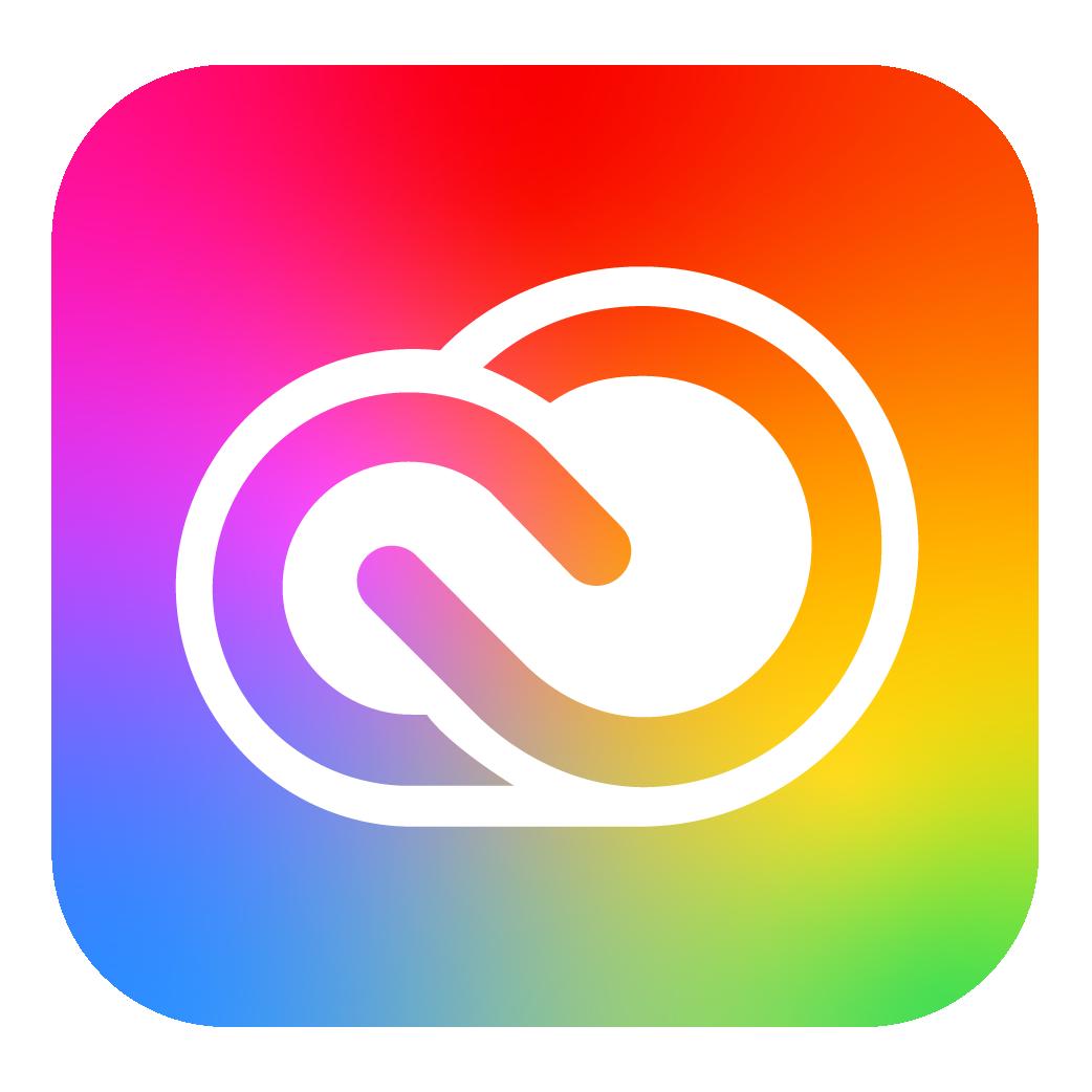 CC Logo [Adobe Creative Cloud] in 2020 Adobe creative