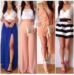 Resultado De Imagen Para Crop Top Y Pantalon Ancho Tumblr Ropa Tumblr Mujer Ropa De Moda Atuendos De Moda Para Mujer