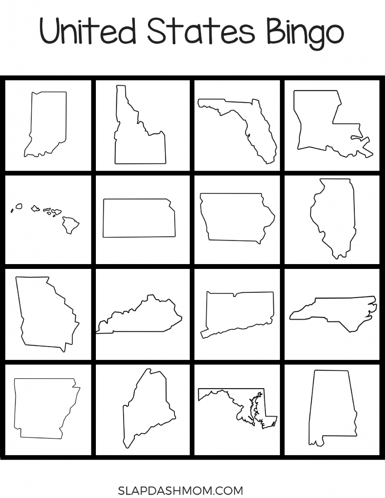 Free 50 States Lapbook Resources and Printables
