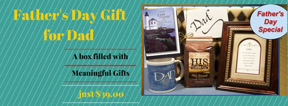 Christian Coffee gift for Dad Father's Day, Birthday and Appreciation