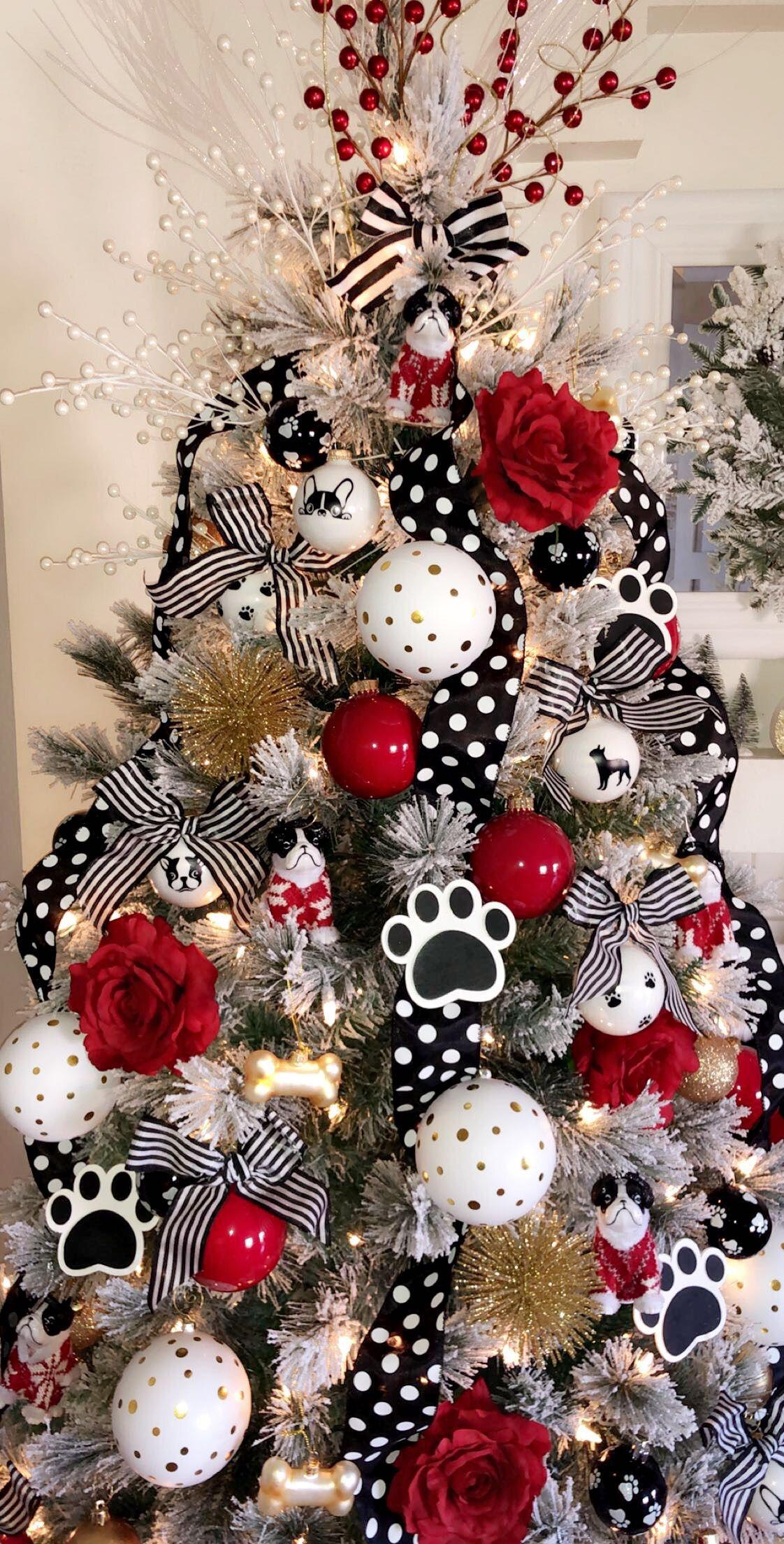 Boston Terrier Ornaments Christmas Tree Inspiration Christmas Tree Themes Christmas Tree Design
