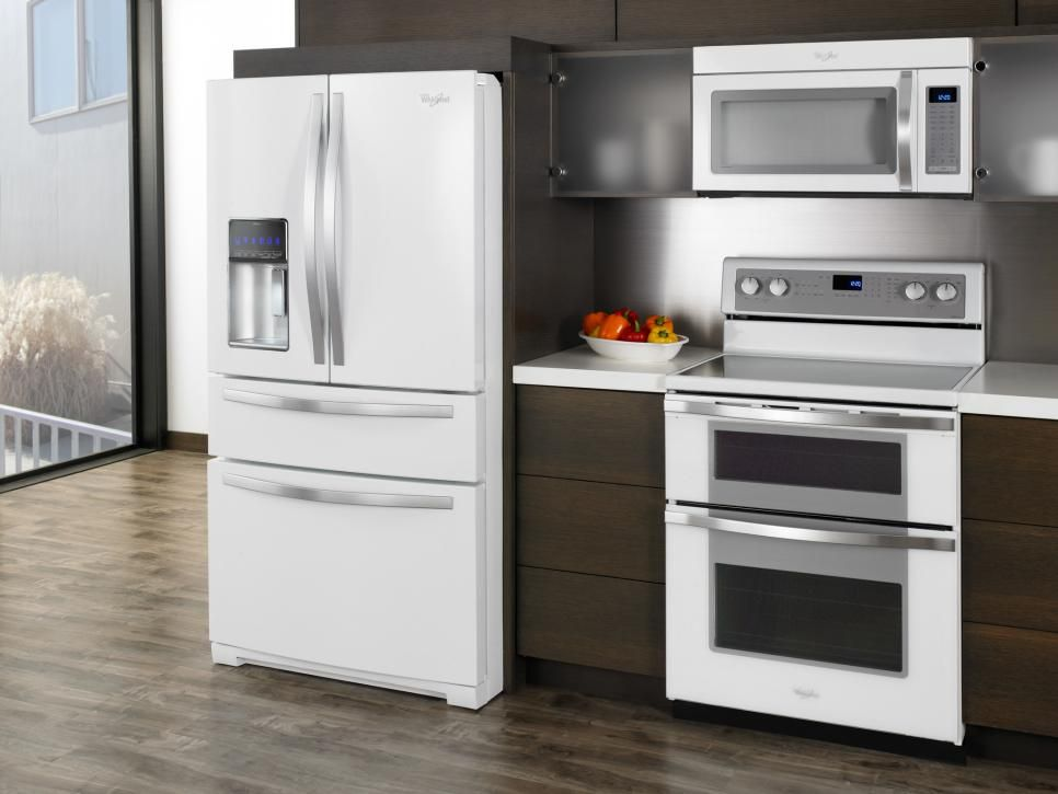New White Appliances ~ Hot kitchen appliance trends pinterest white