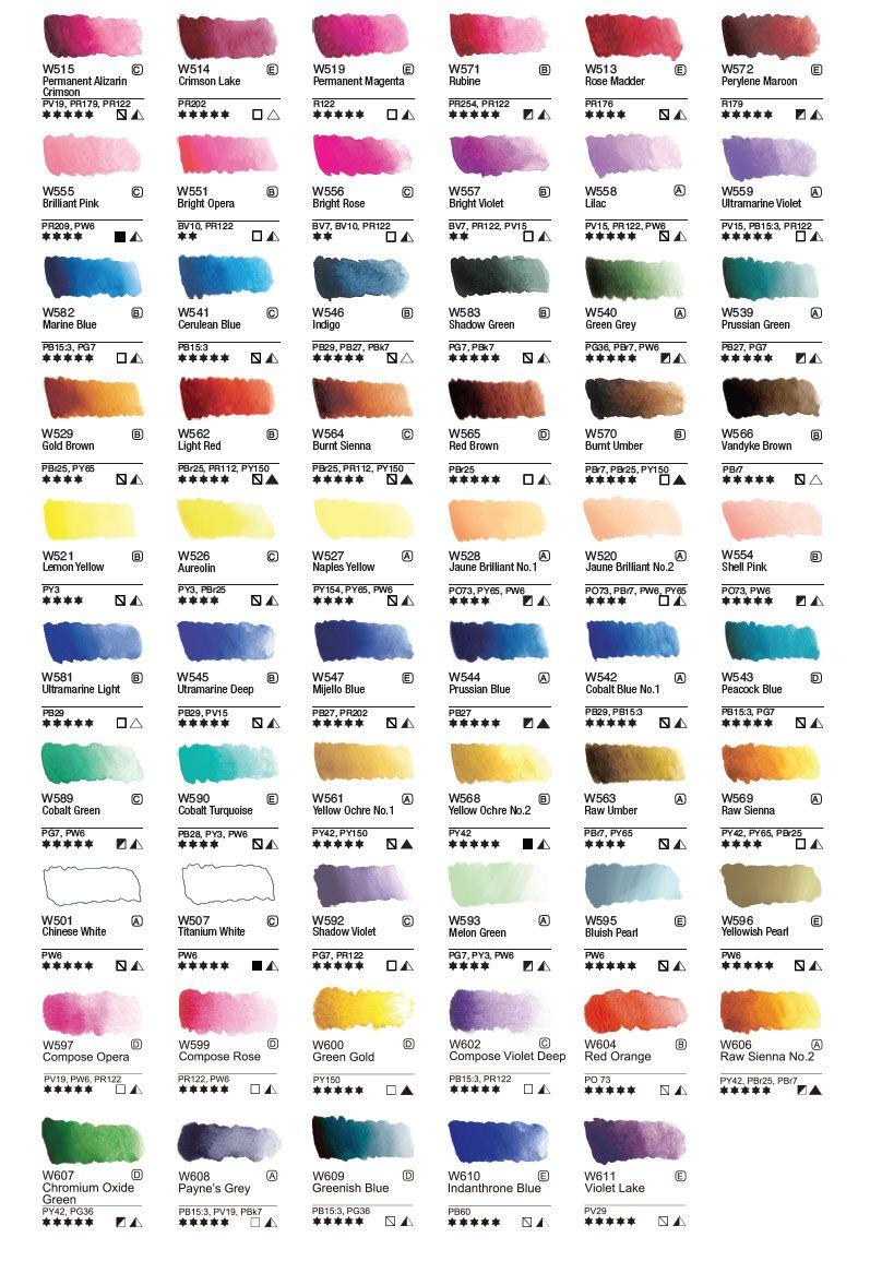 Http Www Mijelloart Com 105 Individual Colors Html Color