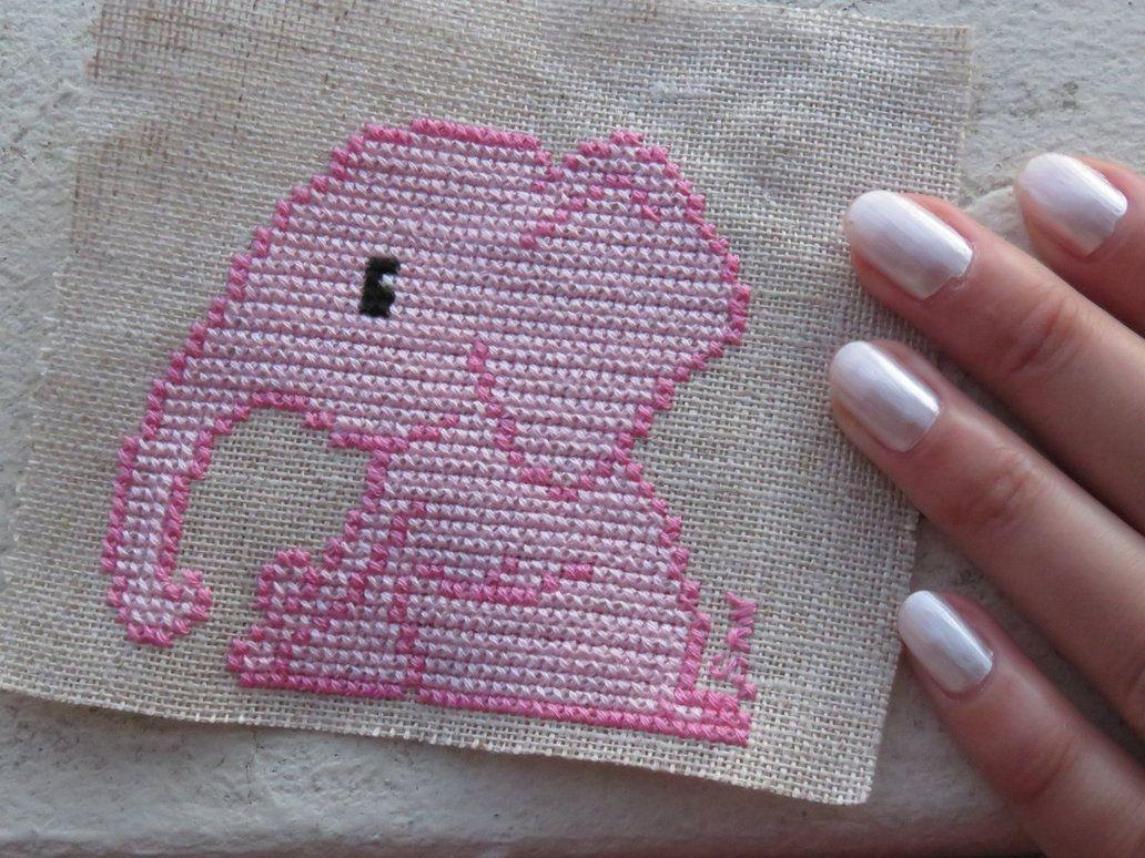 Pink elephant by Santian69 on DeviantArt