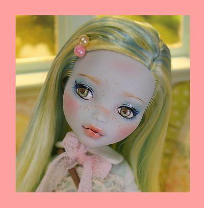 CORALIE - OOAK custom repaint Monster High doll by Nerea Pozo!!!