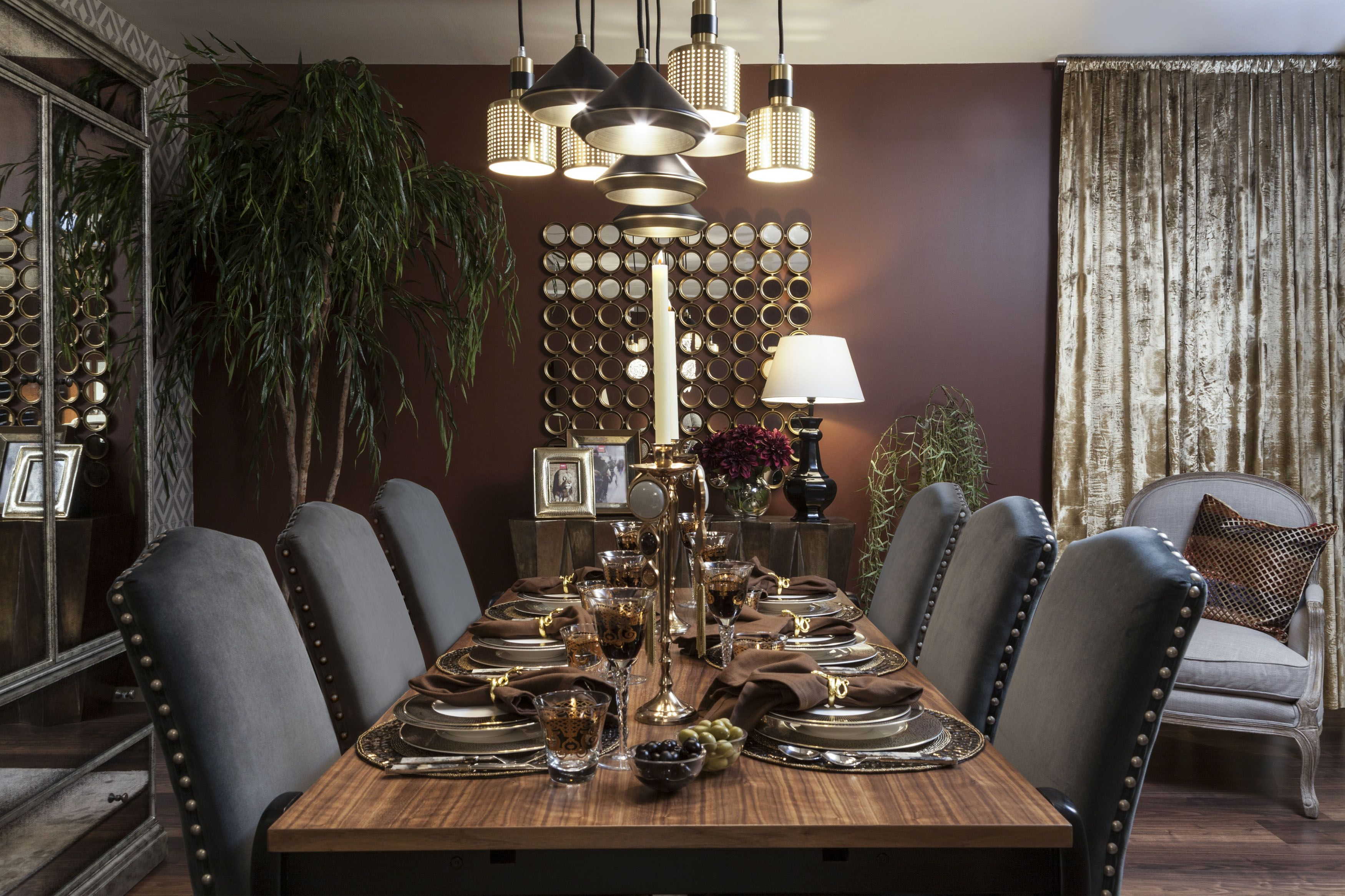 Rock N Roll Interieur Dining Eclectic A Mix And Match Interior Inspired By