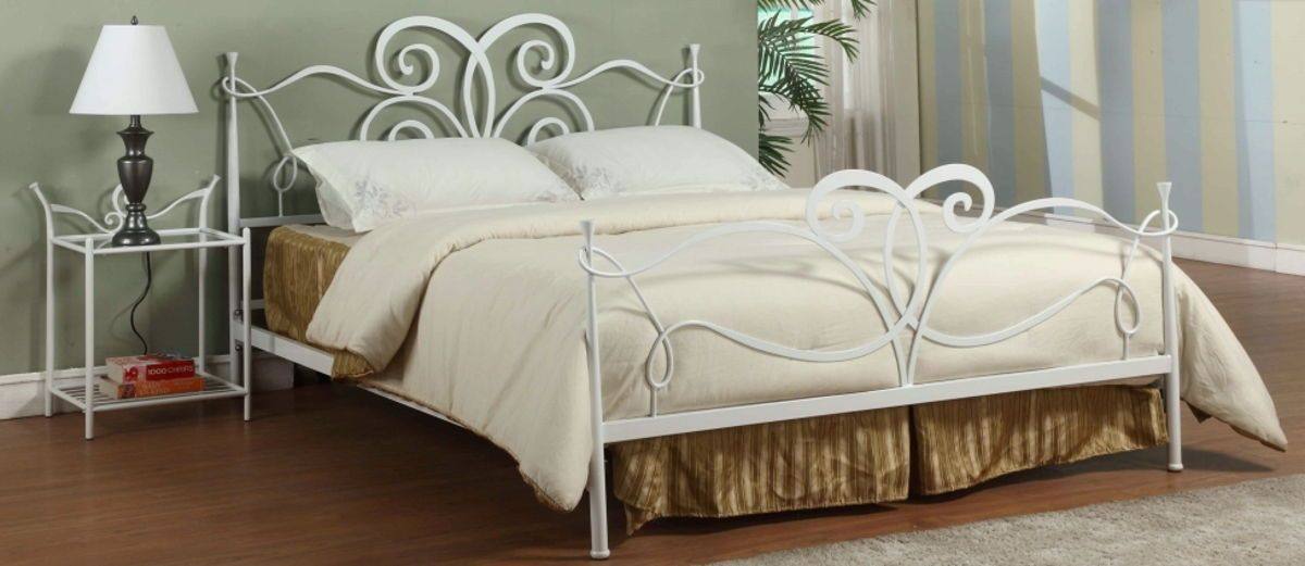Chintaly Furniture Queen Metal Master Bedroom Set Chintaly Imports