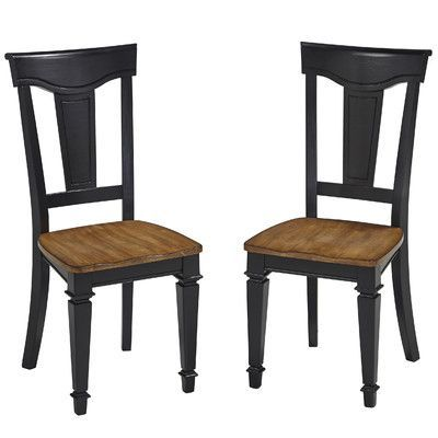 Home Styles Americana Side Chair Finish: