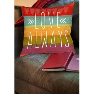 Thumbprintz Love Always Indoor Pillow