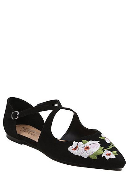 00ff65fd10 Floral Embroidered Shoes