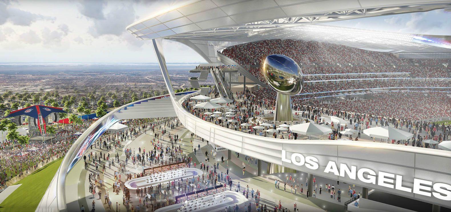 San Diego Chargers And Oakland Raiders Stadium Manica Architecture Arch2o Com Stadium Design San Diego Chargers Stadium