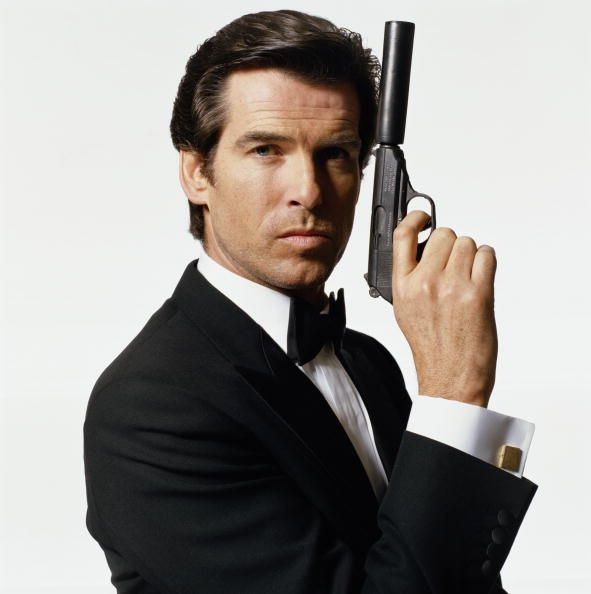 Pierce Brosnan played James Bond in GoldenEye (1995), Tomorrow Never Dies (1997), The World Is Not Enough (1999) and Die Another Day (2002)