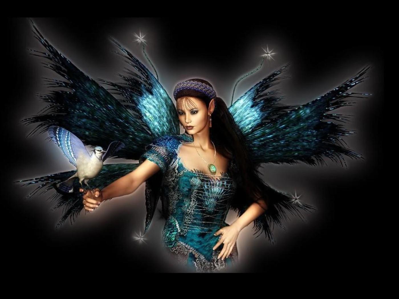 Beautiful Winter Angel Fairy Angel Hd Wallpaper Fairy Art