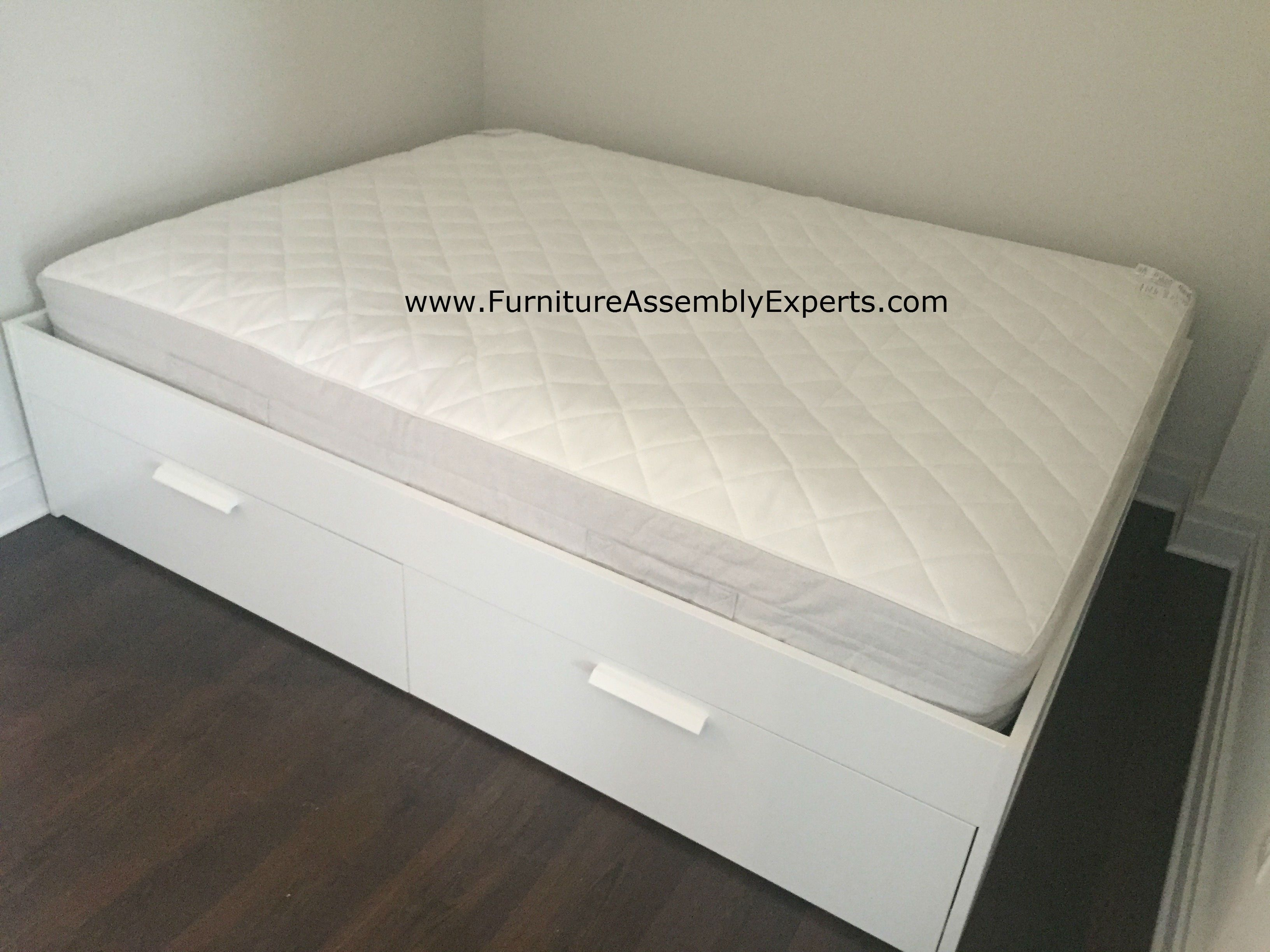 Ikea Brimnes Storage Bed Assembled In North Carolina By Furniture Assembly Experts Zolder