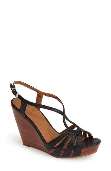 03093cd1bb2 Seychelles  Brunette  Leather Wedge Sandal (Women)
