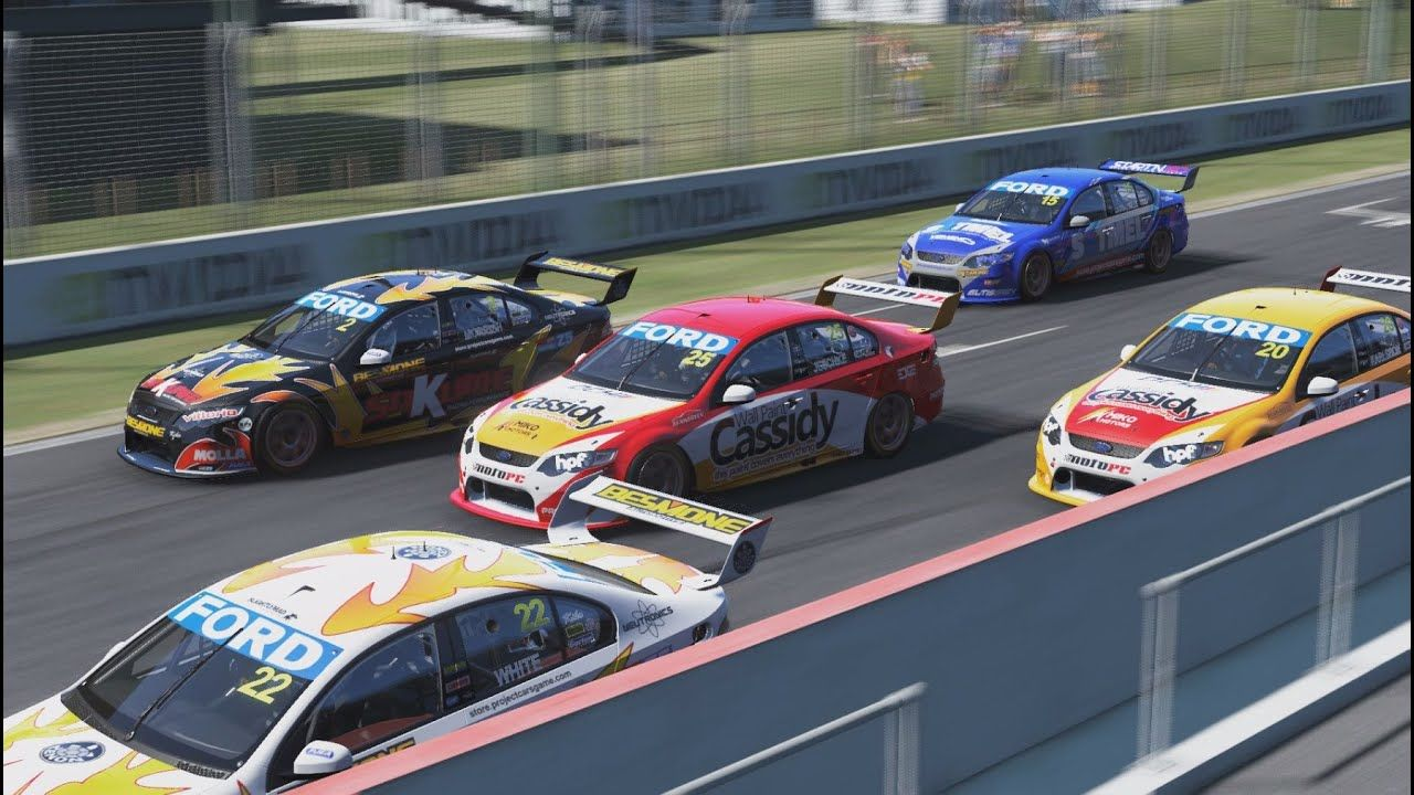 Project Cars V8 Supercars At Bathurst Super Cars Bathurst V8 Supercars