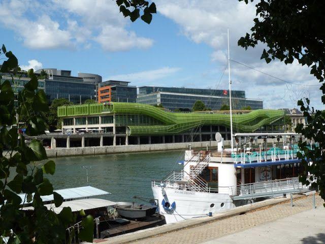 Cité de la mode et du design - Port d'Austerlitz, Paris 13e
